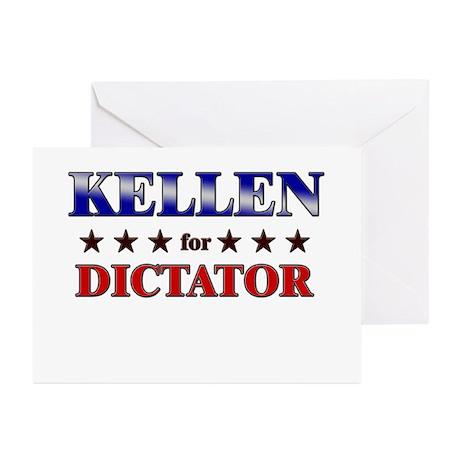 KELLEN for dictator Greeting Cards (Pk of 10)