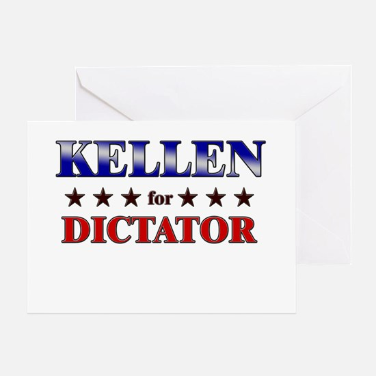 KELLEN for dictator Greeting Card