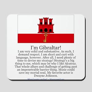 Gibraltar Mousepad