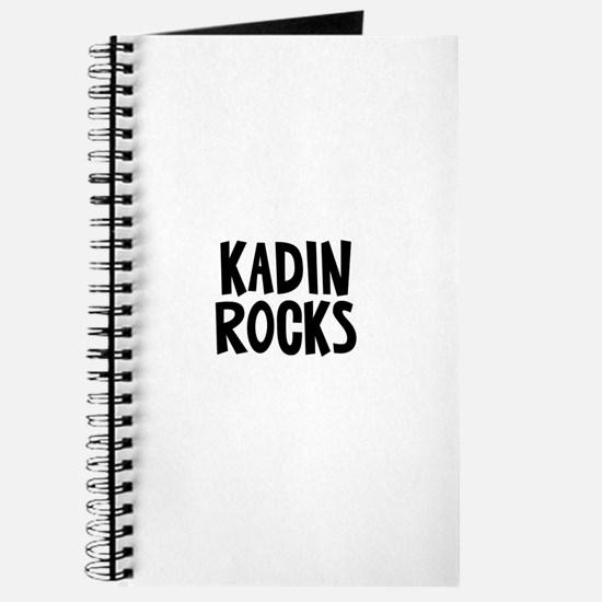 Kadin Rocks Journal