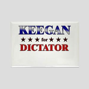 KEEGAN for dictator Rectangle Magnet