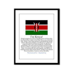 Kenya Framed Panel Print