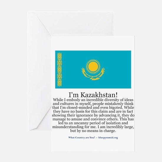 Kazakhstan Greeting Card