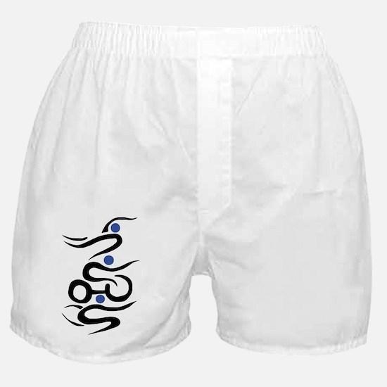 Cute Live love run Boxer Shorts