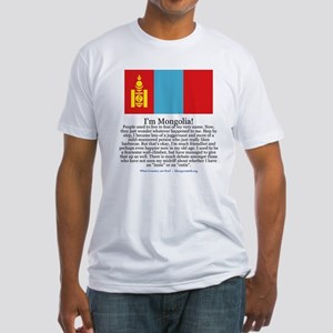 Mongolia Fitted T-Shirt