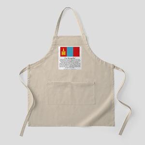 Mongolia BBQ Apron