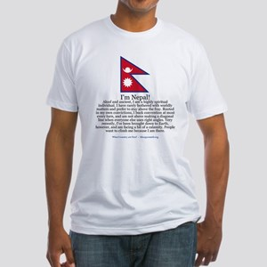 Nepal Fitted T-Shirt
