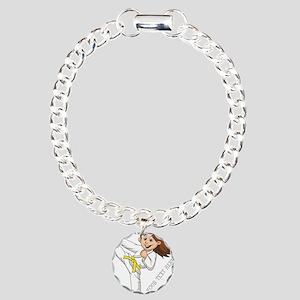 PERSONALIZED KARATE GIRL Bracelet