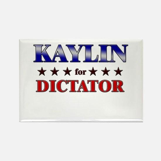 KAYLIN for dictator Rectangle Magnet
