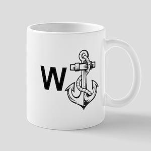 W Anchor *Wanker* Mug