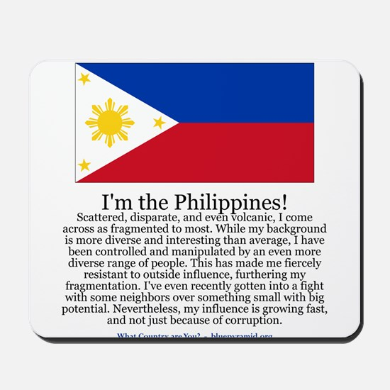 Philippines Mousepad