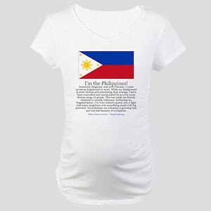 Philippines Maternity T-Shirt