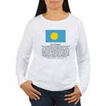 Palau Women's Long Sleeve T-Shirt