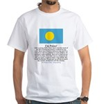 Palau White T-Shirt