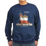 Round Island Lighthouse Sweatshirt (dark)