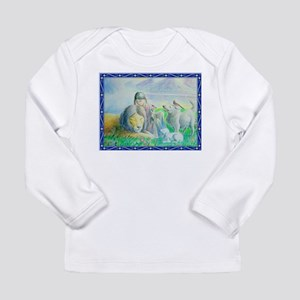 Girl and Lion at Peace Long Sleeve T-Shirt