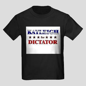 KAYLEIGH for dictator Kids Dark T-Shirt