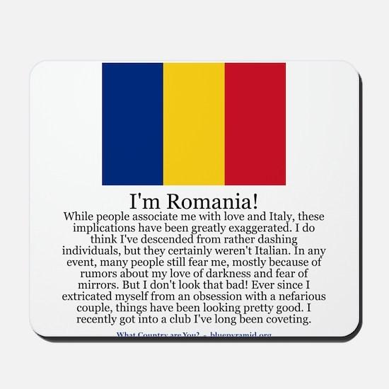 Romania Mousepad