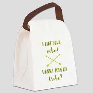I LIKE YOUR... Canvas Lunch Bag
