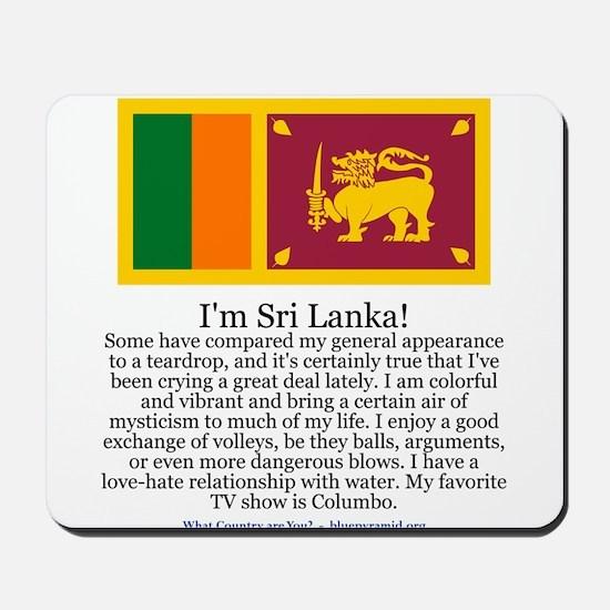 Sri Lanka Mousepad