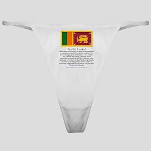 Sri Lanka Classic Thong