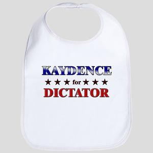 KAYDENCE for dictator Bib