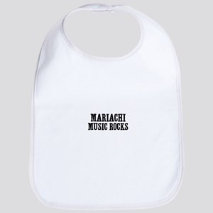 Mariachi Music Rocks Bib