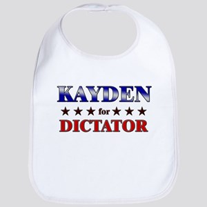 KAYDEN for dictator Bib
