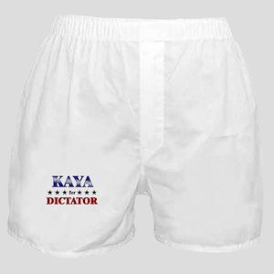 KAYA for dictator Boxer Shorts