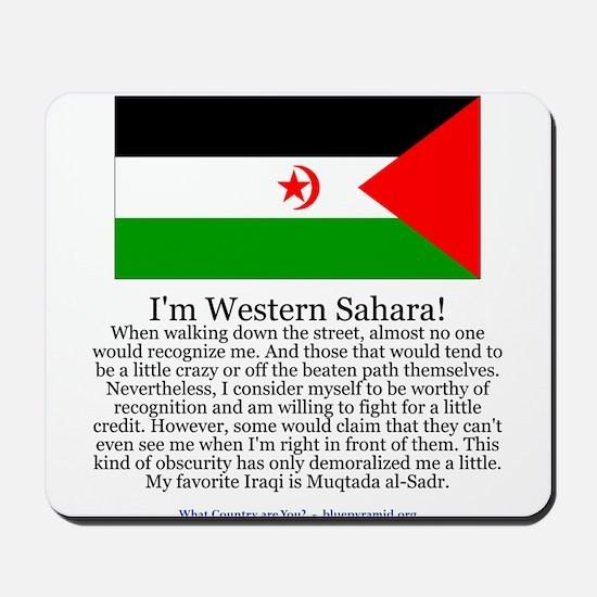 Western Sahara Mousepad