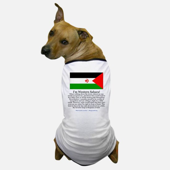 Western Sahara Dog T-Shirt