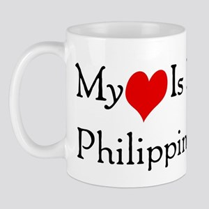My Heart Is In Philippines Mug