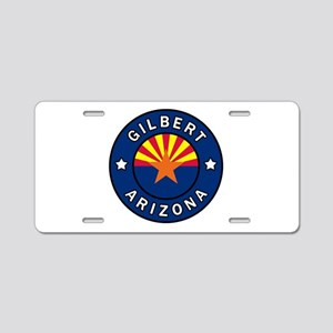 Gilbert Arizona Aluminum License Plate