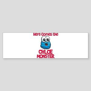 Chloe Monster Bumper Sticker