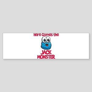 Jack Monster Bumper Sticker
