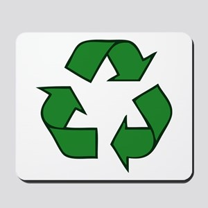 Recycle Symbol Mousepad