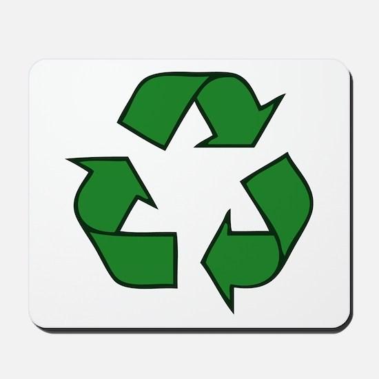Recycle Symbol Mousepad