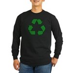 Recycle Symbol Long Sleeve Dark T-Shirt