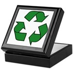 Recycle Symbol Keepsake Box
