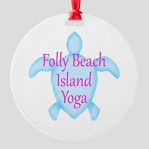 Folly Beach Sea Turtle Ornament