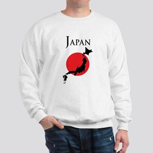 Map Of Japan Sweatshirt
