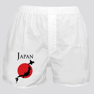 Map Of Japan Boxer Shorts