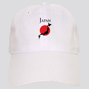 Map Of Japan Cap