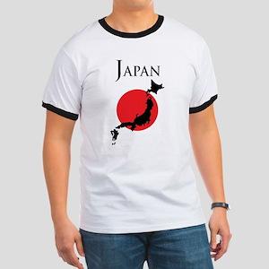 Map Of Japan Ringer T
