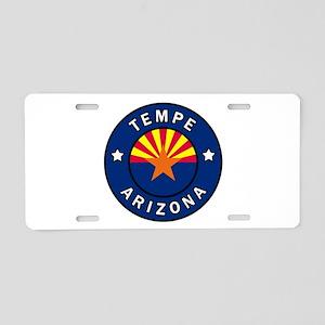 Tempe Arizona Aluminum License Plate