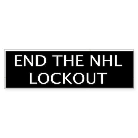 End The Lockout (Bumper Sticker)