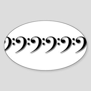 BassClefs Sticker