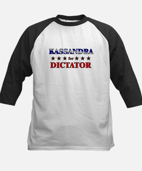 KASSANDRA for dictator Kids Baseball Jersey