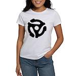 45 RPM Adapter Women's T-Shirt