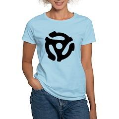 45 RPM Adapter Women's Light T-Shirt